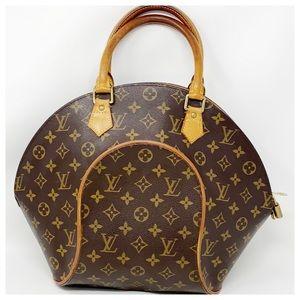Louis Vuitton Authentic Monogram Ellipse Satche